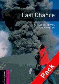 OBWL 2E STARTER: LAST CHANCE AUDIO CD PACK