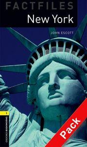 OBWL 3E LEVEL 1: NEW YORK FACTFILE AUDIO CD PACK