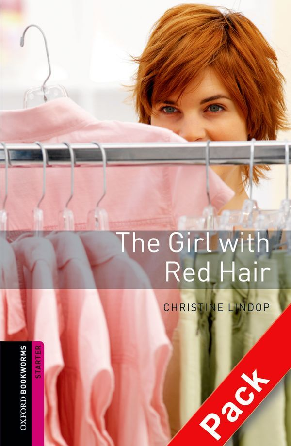 OBWL 2E STARTER: THE GIRL WITH RED HAIR AUDIO CD PACK