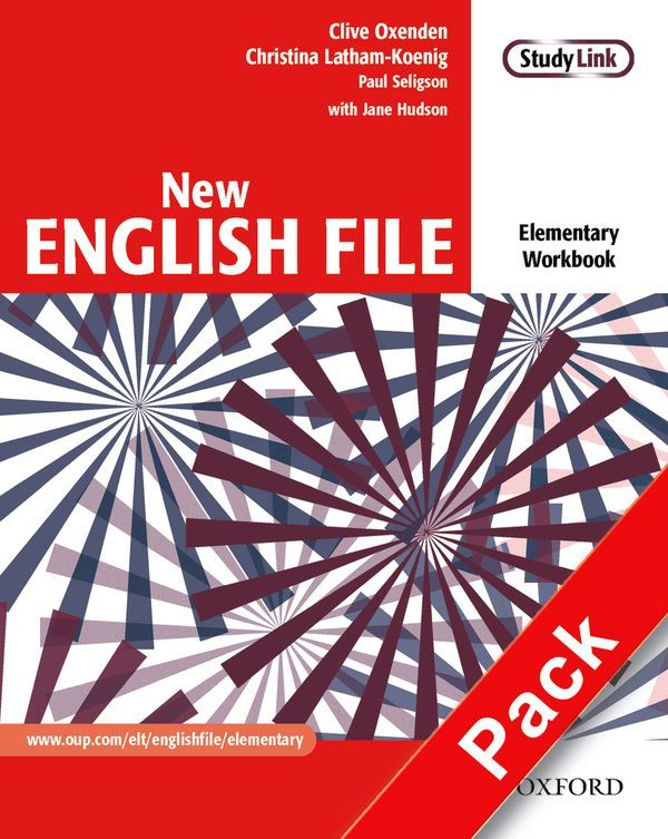 NEW ENGLISH FILE ELEMENTARY: WORKBOOK WITH ANSWER BOOKLET AND MULTIROM PACK