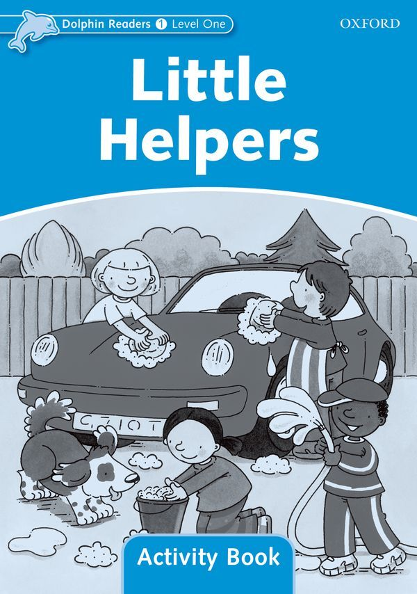LITTLE HELPERS ACTIVITY BOOK 1 DOLPHINS