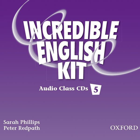 INCREDIBLE ENGLISH 5: CLASS AUDIO CDS (3)