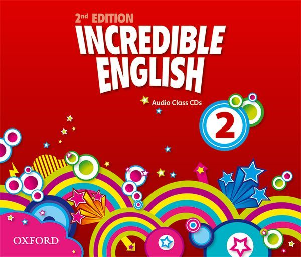 INCREDIBLE ENGLISH, NEW EDITION 2: CLASS AUDIO CDS (3)