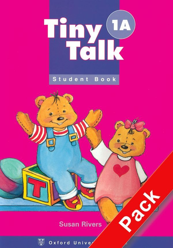 TINY TALK 1A: PACK (STUDENT BOOK AND AUDIO CD)