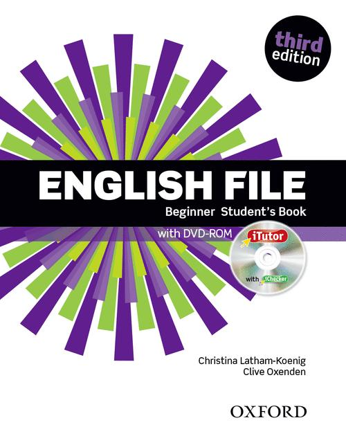 ENGLISH FILE, 3RD EDITION BEGINNER: STUDENT'S BOOK & ITUTOR PACK