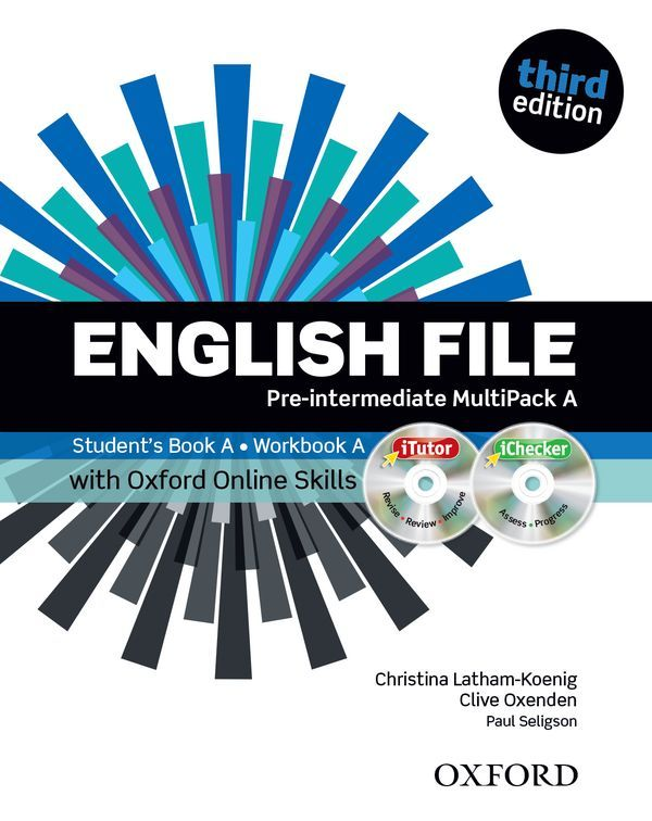 ENGLISH FILE 3RD EDITION PRE-INTERMEDIATE: MULTIPACK A WITH ONLINE SKILLS