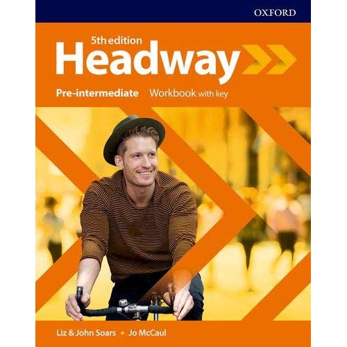 NEW HEADWAY 5TH EDITION, PRE-INTERMEDIATE WORKBOOK WITH ANSWERS