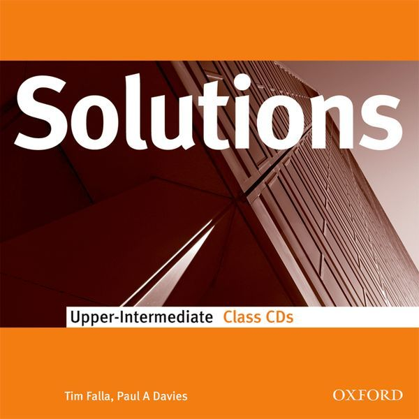 SOLUTIONS UPPER-INTERMEDIATE: CLASS AUDIO CDS (2)