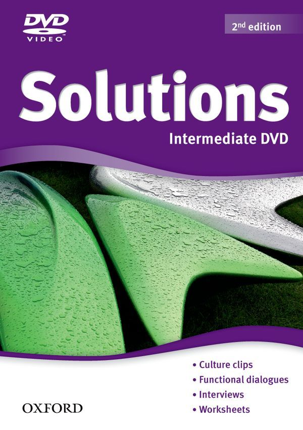 SOLUTIONS 2ND EDITION INTERMEDIATE: DVD