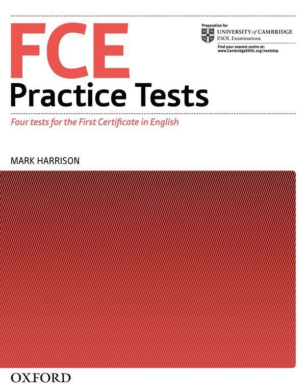 FCE PRACTICE TESTS, NEW EDITION WITHOUT ANSWERS
