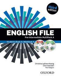 ENGLISH FILE 3RD EDITION PRE-INTERMEDIATE: MULTIPACK A