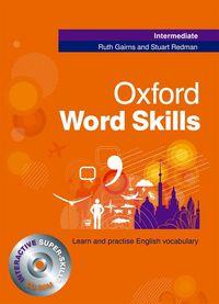 OXFORD WORD SKILLS INTERMEDIATE SB WITH CDROM