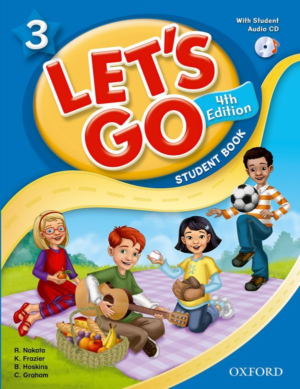 LET'S GO 4TH EDITION 3: STUDENT BOOK WITH AUDIO CD PACK