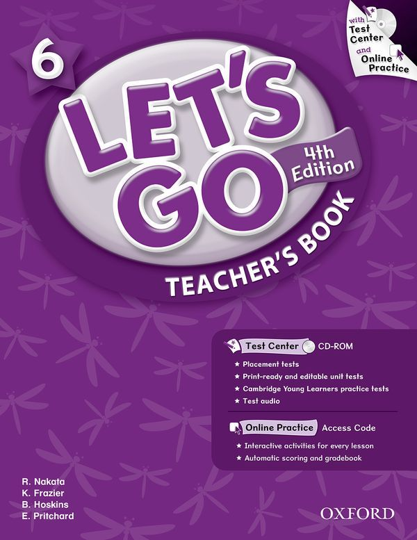LET'S GO 4TH EDITION 6: TEACHER'S BOOK WITH TEST CENTER PACK