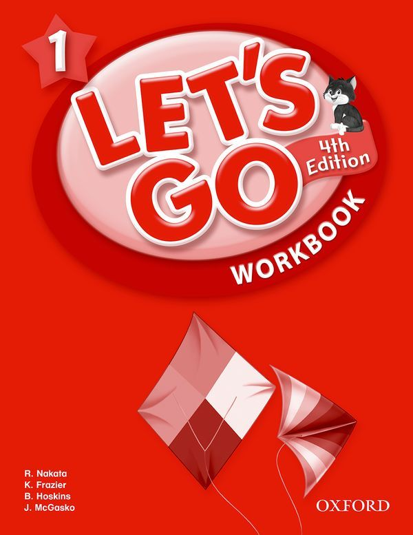 LET'S GO 4TH EDITION 1: WORKBOOK