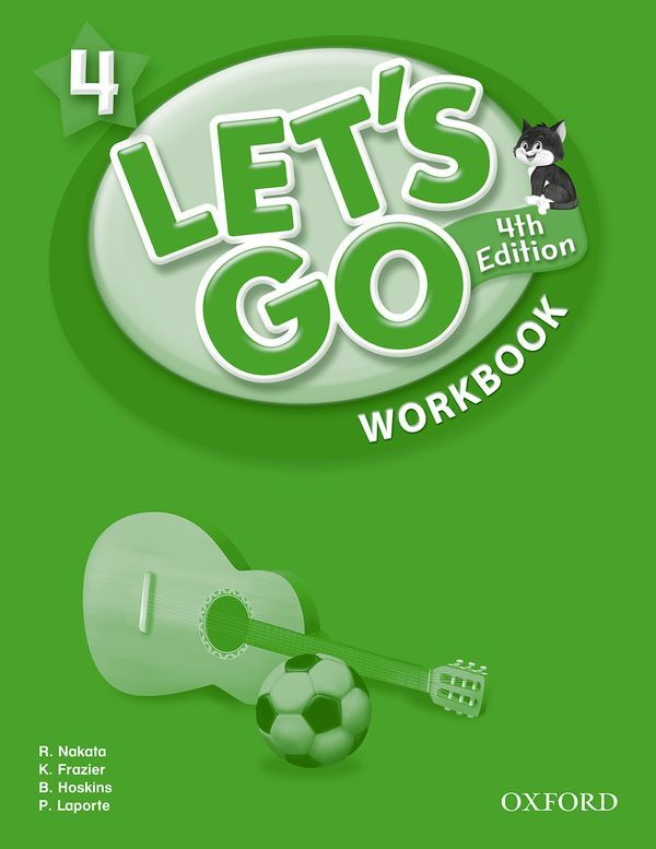 LET'S GO 4TH EDITION 4: WORKBOOK