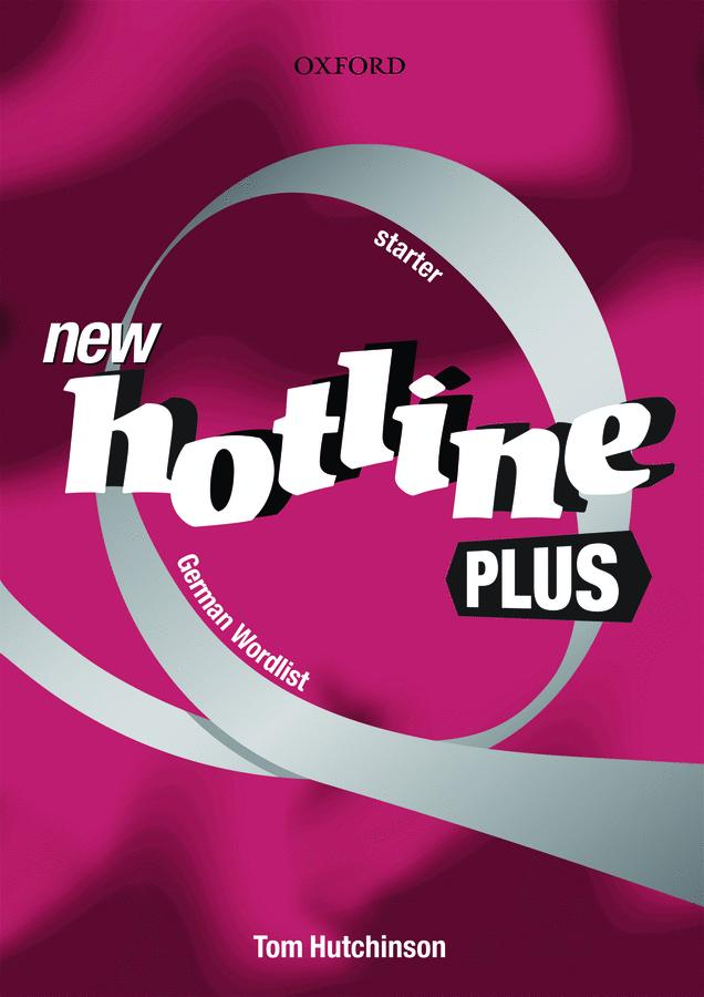 NEW HOTLINE PLUS STARTER WORDLIST GERMAN SWITZERLAND  BENELUX