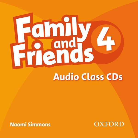 FAMILY & FRIENDS 4: CLASS AUDIO CDS (3)