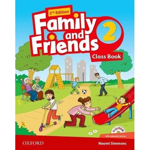 FAMILY & FRIENDS 2E: 2 CLASS BOOK PACK