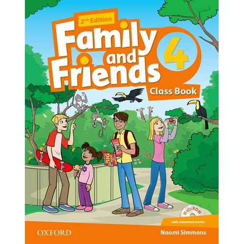 FAMILY & FRIENDS 2E: 4 CLASS BOOK PACK