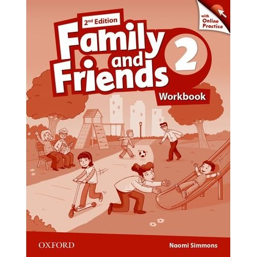 FAMILY & FRIENDS 2E: 2 WORKBOOK & ONLINE PRACTICE PACK