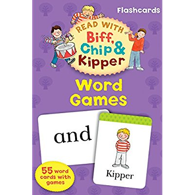 OXFORD READING TREE: READ WITH BIFF, CHIP AND KIPPER FLASHCARDS: WORDGAMES