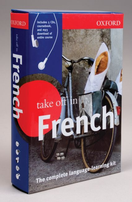 TAKE OFF IN FRENCH : COURSEBOOK, AUDIO CDS, MP3