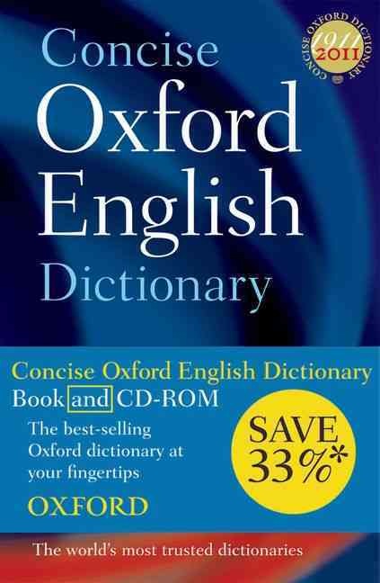 ENGLISH CONCISE DICTIONARY HARDBACK WITH CD-ROM