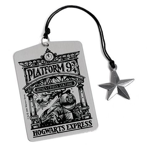 HARRY POTTER 6 METAL BOOKMARKS N8 MARQUE PAGES