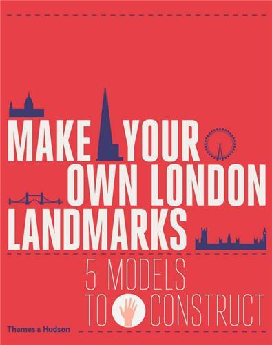 MAKE YOUR OWN LONDON LANDMARKS 5 MODELS TO CONSTRUCT /ANGLAIS