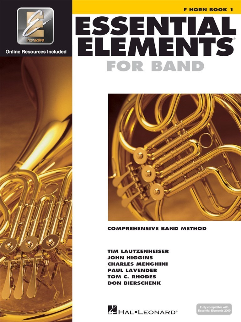 ESSENTIAL ELEMENTS FOR BAND - BOOK 1 WITH EEI COR +ENREGISTREMENTS ONLINE