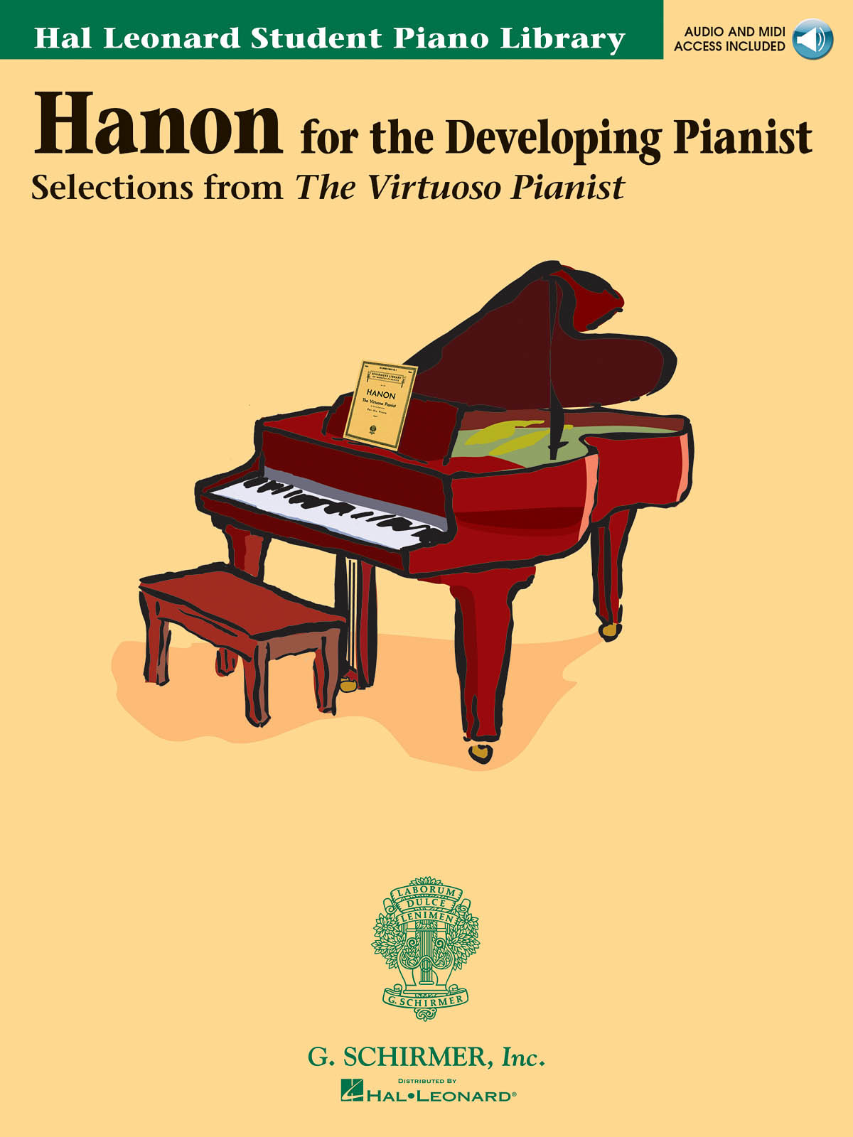 HAL LEONARD STUDENT PIANO LIBRARY: HANON FOR THE DEVELOPING PIANIST PIANO+CD