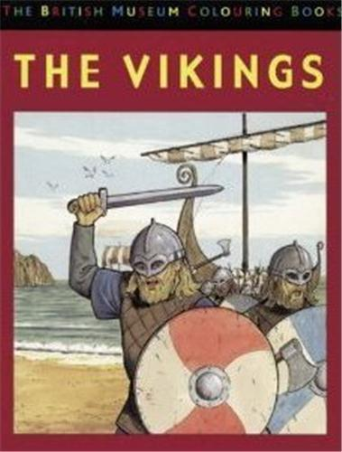 VIKINGS COLOURING BOOK /ANGLAIS