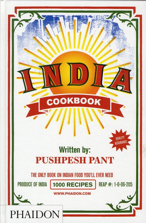 INDIA COOKBOOK THE ONLY BOOK ON INDIAN FOOD YOU'LL EVER NEED...