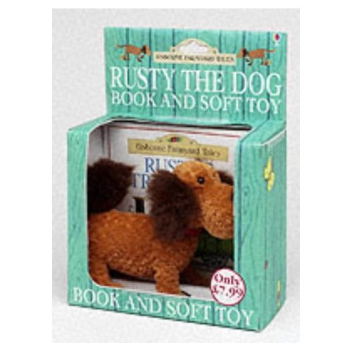 RUSTY THE DOG BOOK AND SOFT TOY