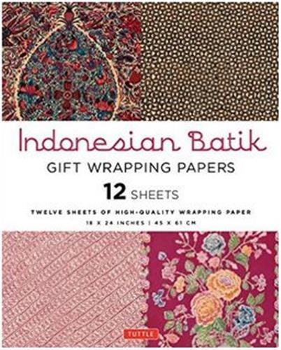 GIFT WRAPPING PAPERS INDONESIAN BATIK /ANGLAIS