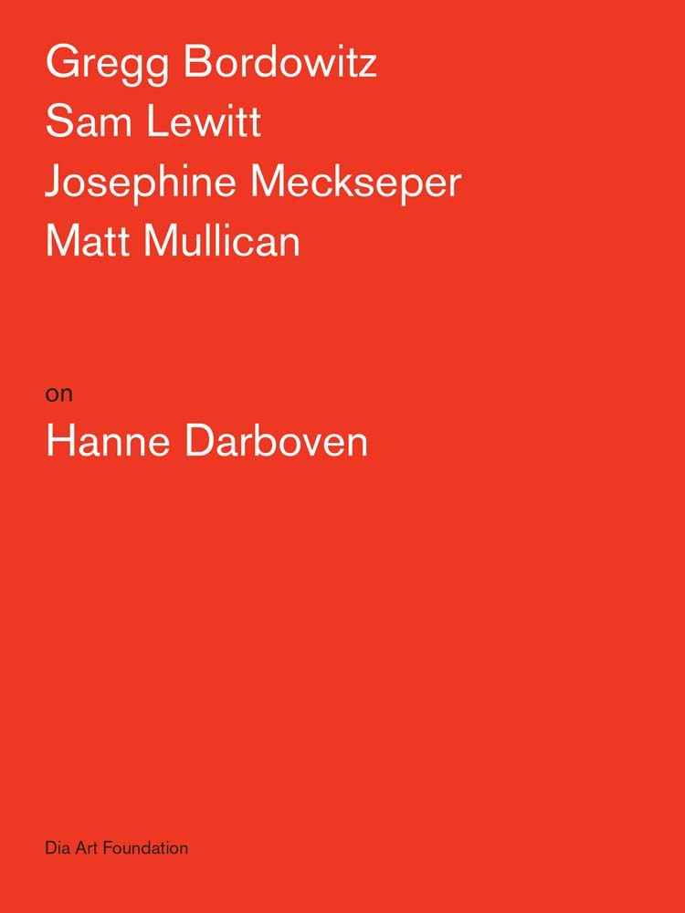 ARTISTS ON HANNE DARBOVEN /ANGLAIS