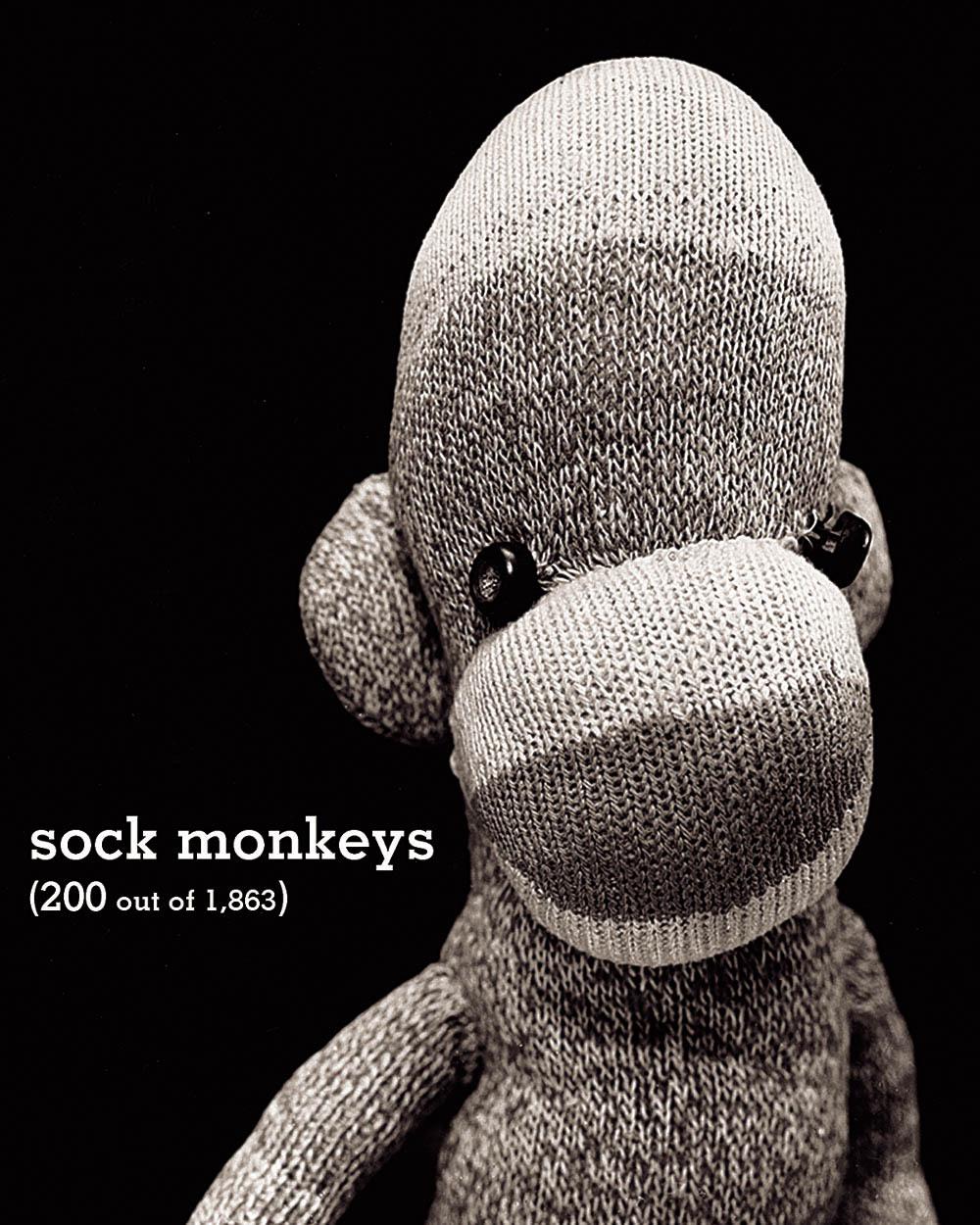 SOCK MONKEYS /ANGLAIS