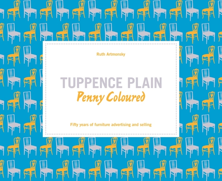 TUPPENCE PLAIN, PENNY COLOURED /ANGLAIS
