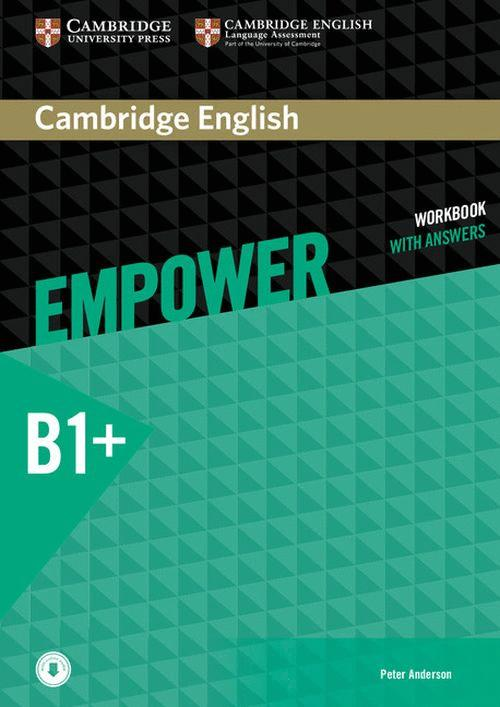 CAMBRIDGE ENGLISH EMPOWER INTERMEDIATE WORKBOOK WITH ANSWERS WITH DOWNLOADABLE AUDIO