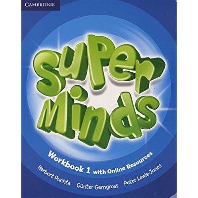 SUPER MINDS WORKBOOK WITH ONLINE RESOURCES LEVEL 1