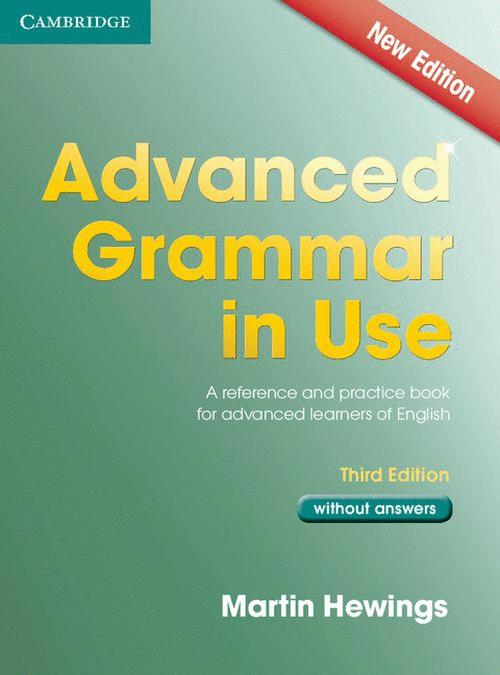 ADVANCED GRAMMAR IN USE THIRD EDITION BOOK WITHOUT ANSWERS
