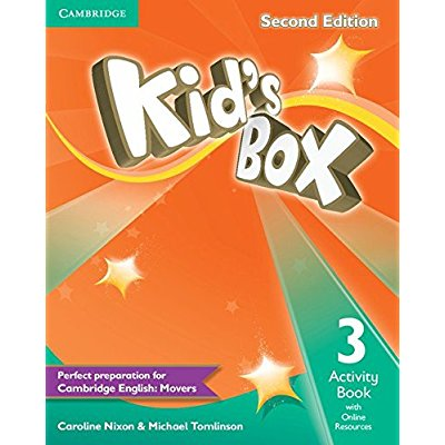 KID'S BOX SECOND EDITION ACTIVITY BOOK WITH ONLINE RESOURCES LEVEL 3