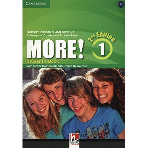 MORE LEVEL 1 STUDENT'S BOOK WITH CYBER HOMEWORK AND ONLINE RESOURCES