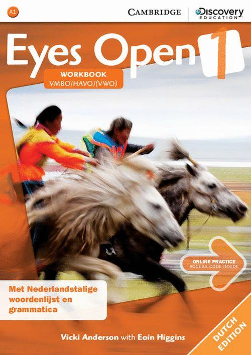 EYES OPEN LEVEL 1 WORKBOOK WITH ONLINE PRACTICE DUTCH EDITION