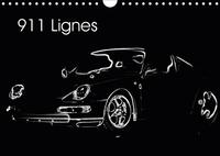 911 LIGNES CALENDRIER MURAL 2019 DIN A4 HORIZONTAL