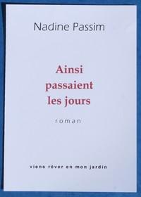 01 01 AINSI PASSAIENT LES JOURS