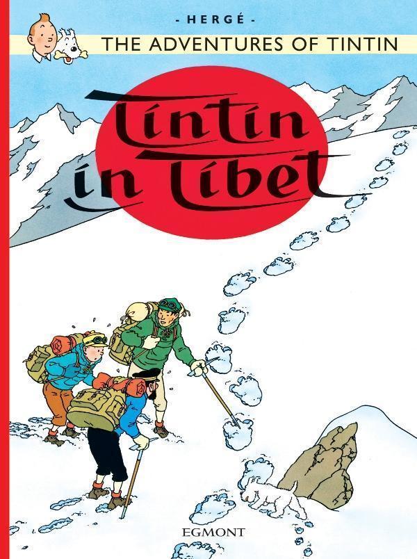 TINTIN AU TIBET (EGMONT ANGLAIS)