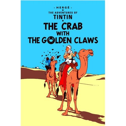 TINTIN THE CRAB WITH THE GOLDEN CLAWS