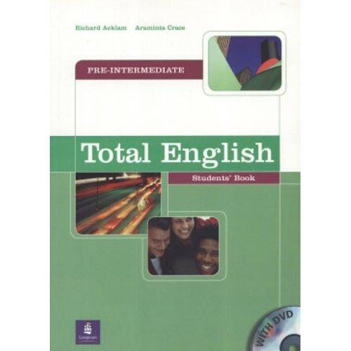 TOTAL ENGLISH PRE-INT STUD BK & DVD